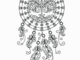 Printable Tattoo Coloring Pages Dream Catcher Coloring Pages