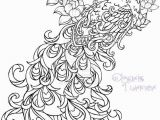Printable Tattoo Coloring Pages Realistic Peacock Coloring Pages Free Coloring Page
