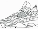 Printable Tennis Shoe Coloring Pages Air Jordan Coloring Pages Inspirational Lebron Shoes Drawing at