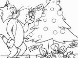 Printable tom and Jerry Christmas Coloring Pages tom and Jerry In Christmas Day A721 Coloring Pages Printable
