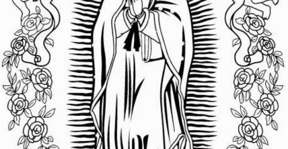 Printable Virgen De Guadalupe Coloring Pages Our Lady Guadalupe Coloring Page at Getdrawings