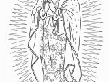 Printable Virgen De Guadalupe Coloring Pages Our Lady Of Guadalupe Super Coloring