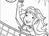 Printable Volleyball Coloring Pages Les Coloriages De Volley Sur Coloriages Enfants