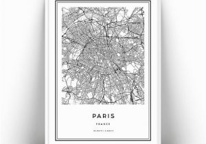 Printable Wall Murals Paris Map Printable Wall Art Paris City Map Wall Art Prints