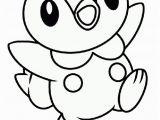 Printable Water Type Pokemon Coloring Pages Water Type Baby Pokemon Piplup Coloring Pages Print