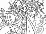 Printable Witch Coloring Pages 10 Best Colouring Pages for Girls Preschool Cute Anime