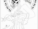 Printable Witch Coloring Pages Coloring Page Inspired by the Mexican Celebration D as De