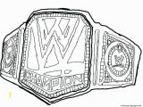 Pro Wrestling Coloring Pages 794 Belt Free Clipart 6