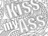 Profanity Curse Word Color Pages Swear Words Coloring Pages Free