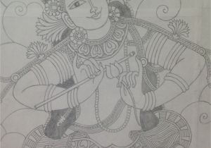Professional Mural Painters Krishna Mural Pencil Sketch Amigurumi Pinterest