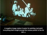 Projector for Wall Mural How to Paint A Mural Using A Projector Done by An Amateur