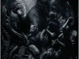 Prometheus Alien Mural On Wall 22 Best Alien Engineers Images