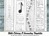 Psalm 150 Coloring Page Praise & Worship 2 Bible Journaling Black and White Pdf 4 Sketches Bookmarks Coloring Bible Verses Music song