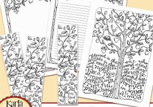 Psalm 51 Coloring Page Psalm 1 Be Like A Tree Coloring Collection