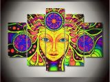 Psychedelic Wall Murals Psychedelic Mandala Abstract Colorful the Wall Print
