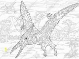 Pterosaur Coloring Pages Pterodactyl Dinosaur Pterosaur Dino Coloring Pages Animal
