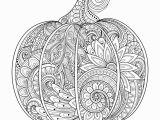 Pumpkin Leaf Coloring Page Zentangle Pumpkin Coloring Page • Free Printable Ebook