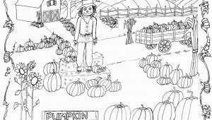 Pumpkin Patch Coloring Pages Preschool Pumpkin Patch Coloring Page Printable