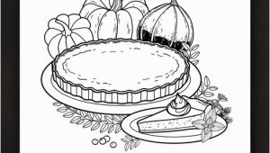 Pumpkin Pie Coloring Page Thanksgiving Coloring Pages Ebook Pumpkin Pie