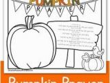 Pumpkin Prayer Coloring Page Thanksgiving Coloring Page It S Great for Sunday School