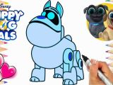 Puppy Dog Pals Coloring Pages Printable Puppy Dog Pals A R F Coloring Page