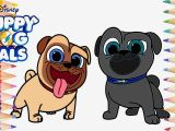 Puppy Dog Pals Printable Coloring Pages Dessin A Imprimer Minnie Puppy Dog Pals Bingo and Rolly Coloring