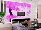 Purple Wall Murals Uk Beautiful Purple Safflower Sea Bird Double Flying Frame Background Wall 3d Murals Wallpaper for Living Room Latest Wallpapers Love Wallpaper From