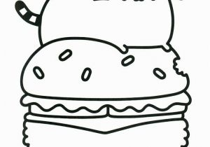Pusheen Cat Coloring Pages Printable Donut Coloring Printables 20 Free Pusheen Coloring Pages to