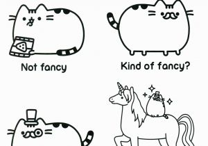 Pusheen Cat Coloring Pages Printable Pusheen Coloring Pages