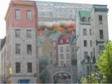 Quebec City Wall Mural Building Mural In Old Quebec Picture Of Quebec City
