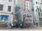 """Quebec City Wall Mural Greenhills School On Twitter """"madame Novak and Madame"""