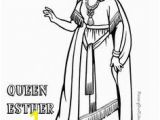 Queen Esther Coloring Pages Printable 77 Best Bible Stories Images