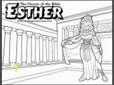 Queen Esther Coloring Pages Printable 95 Best Bible Ot Esther Images