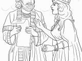 Queen Esther Coloring Pages Printable Royal Kings Queens Coloring Pages