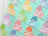 Quilt Blocks Coloring Pages to Print Checkered Heart Quilt A Free Quilt Pattern Ellis & Higgs