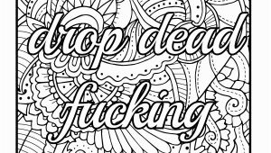 Quote Coloring Pages for Adults Amazon Be F Cking Awesome and Color An Adult Coloring