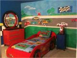 Race Car Wall Mural My son S Race Car themed Room and Mural Had A Blast Doing