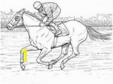 Race Horse Coloring Pages Printable 371 Best Horse Lover Coloring Pages Images On Pinterest In 2018