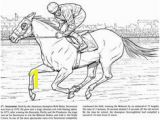 Race Horse Coloring Pages Printable 60 Best Color Horses Petition Images