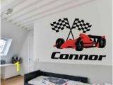 Race Track Wall Mural Race Car Wall Decal