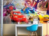 Race Track Wall Mural Wall Murals for Kids Bedroom Muraldecal