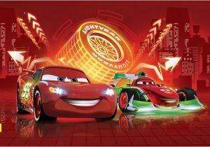 Racing Car Wall Mural Doe Het Zelf Muurposters Cars Neon Wallpaper Wall