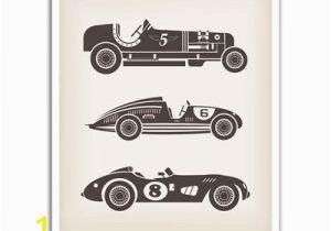 Racing Car Wall Mural J P London Design Inc Wall Decals & Sticker Pos2424