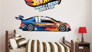 Racing Car Wall Mural Race Car Boys Room Decals
