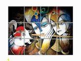 Radha Krishna Wall Murals Tiles Radha Krishna Wall Tiles Nish Manufacturer From Allahabad
