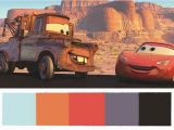 Radiator Springs Wall Mural these Disney Pixar Palettes are the Most Aesthetically Pleasing