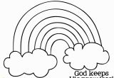 Rainbow and Clouds Coloring Page Rainbow and Clouds Coloring Page Awesome New York Coloring Pages