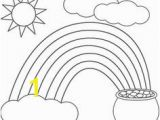 Rainbow and Pot Of Gold Coloring Page 3943 Best Coloring Pages for Kids Images