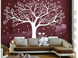 Rainbow Wall Mural Stickers Bdecoll Tree Wall Sticker Art Diy Family Tree Wall Art Paper