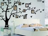 Rainbow Wall Mural Stickers X Diy Family Tree Wall Art Stickers Removable Vinyl Black